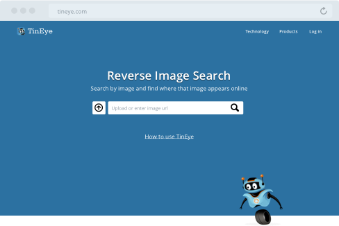 TinEye - Reverse Image Search, Find where images appear online